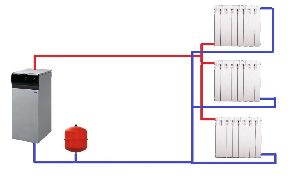 Лучевая (коллекторная) схема