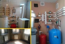 Монтаж отопления в Оренбурге.