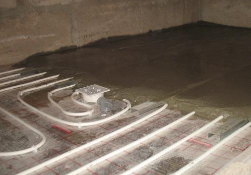 Монтаж водяного теплого пола в Оренбурге